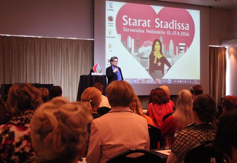 Puheenjohtaja Seija Estlander