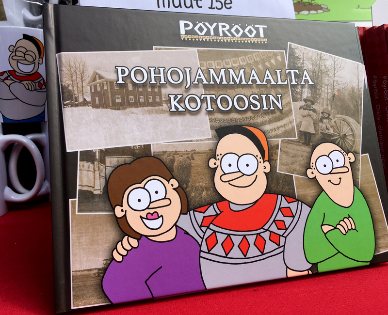Kuudes Kirja Uunista Ulos!